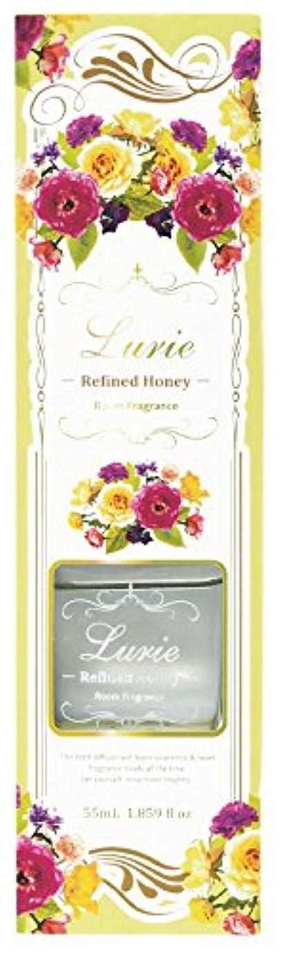 家庭目を覚ます振動するノルコーポレーション リードディフューザー ルーリィ フルーティーの香り リファインドハニー 55ml OA-LRF-1-5