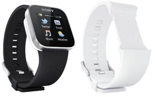 【国内正規品】SONY SmartWatch MN2 ソニー スマートウォッチ 【リストバンド:ブラックとホワイトの2本付き】【メーカー保証付き】 ★かんたんタッチパネル操作で、どなたにもお使いいただけます。★Xperiaと連動して、腕時計のように腕にはめるだけ。★電話、Eメール、Twitter、Facebook、予定自動表示など、用途に合わせて便利な機能をお使いいただけます。★