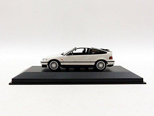 ☆ マキシチャンプス 1/43 ホンダ CR-X クーペ 1989 ホワイト