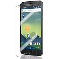 モトローラ SIM フリー スマートフォン Moto Z2 Play フィルム 全面 保護 スクラッチ防止 ケースに干渉しない フレックスモデル TPU Film 貼り直し可 クリア