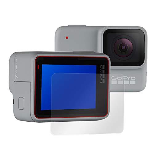 GoPro HERO7 Silver/White 用 日本製 指紋が目立たない 反射防止液晶保護フィルム OverLay Plus