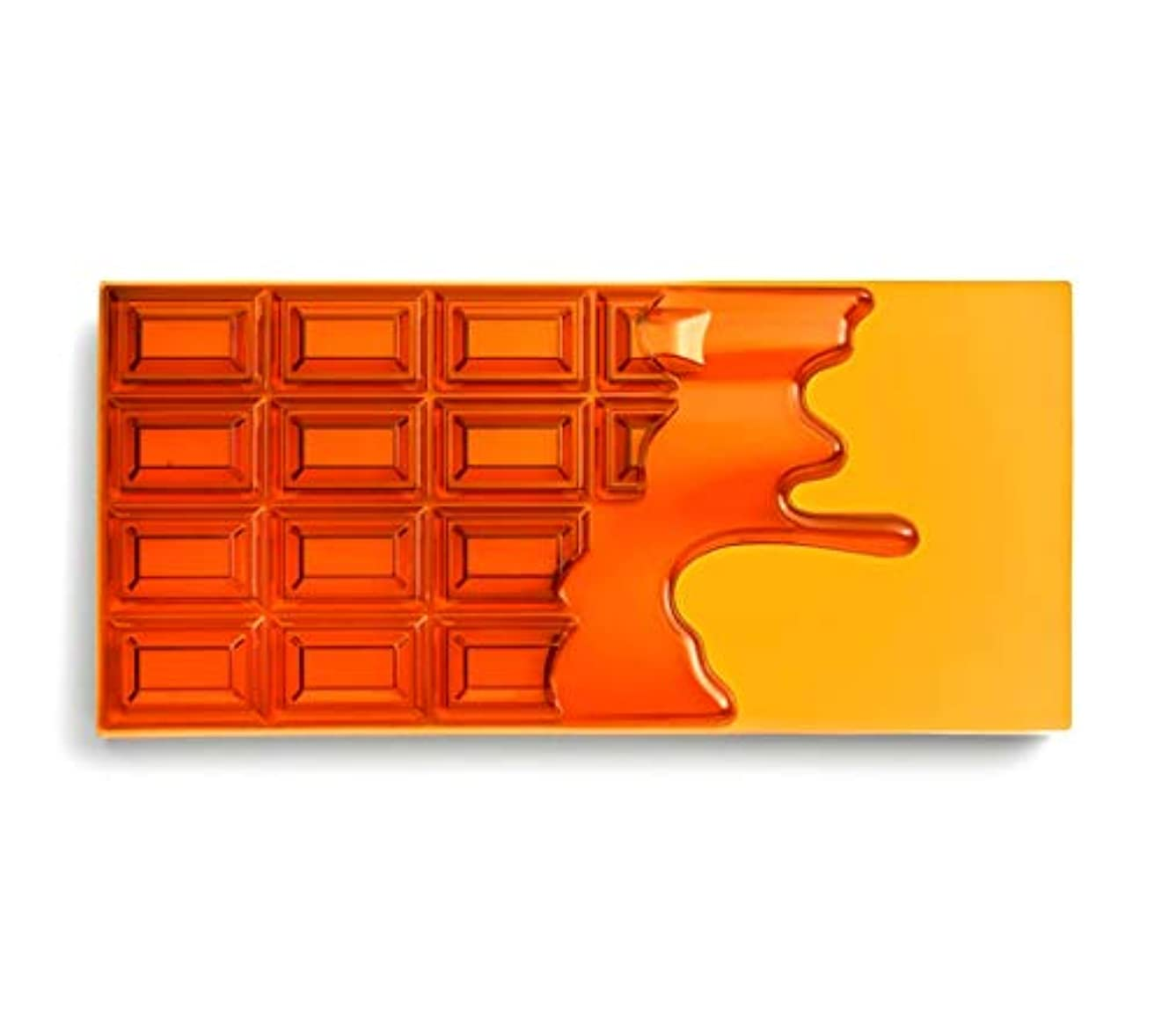 明確なメリーアイザックメイクアップレボリューション アイラブメイクアップ チョコレート型18色アイシャドウパレット #Honey Chocolate ハニーチョコレートパレット アイシャドウ