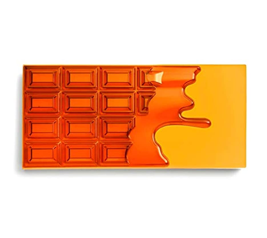 ブランド下向き男らしさメイクアップレボリューション アイラブメイクアップ チョコレート型18色アイシャドウパレット #Honey Chocolate ハニーチョコレートパレット アイシャドウ