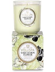 Voluspa ボルスパ メゾンジャルダン ボックス入りグラスキャンドル サケレモンフラワー MAISON JARDIN Box Glass Candle SAKE LEMON FLOWER