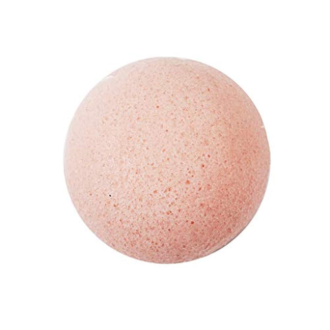 魅力的であることへのアピール被害者カウンタD DOLITY こんにゃく フェイシャルスポンジ 洗顔用 パフ フェイススポンジ マッサージ 汚れ 油 - ピンク