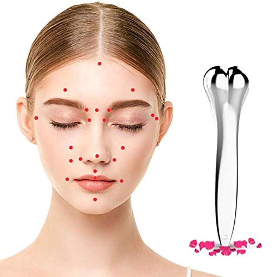 カルシウムポイント起こる5PCS/SET Zinc Alloy Women 3D Facial Roller Massager Thin Face Full Body Massager Wrinkle Remover Tool Best Gift