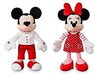 ディズニー ミッキー & ミニー バレンタイン ホワイトデー ぬいぐるみ ペアセット 38cm 2019年 Sサイズ [並行輸入品]