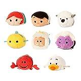 ディズニー(Disney) US公式商品 リトルマーメイド ツムツム ミニ(S)全8種類セット ぬいぐるみ 人形 [並行輸入品] (アリエル、トリトン、フランダー、セバスチャン、アースラ、エリック、マックス、スカットル)