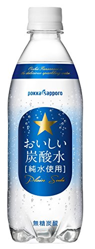 ポッカサッポロ おいしい炭酸水 500ml×24本