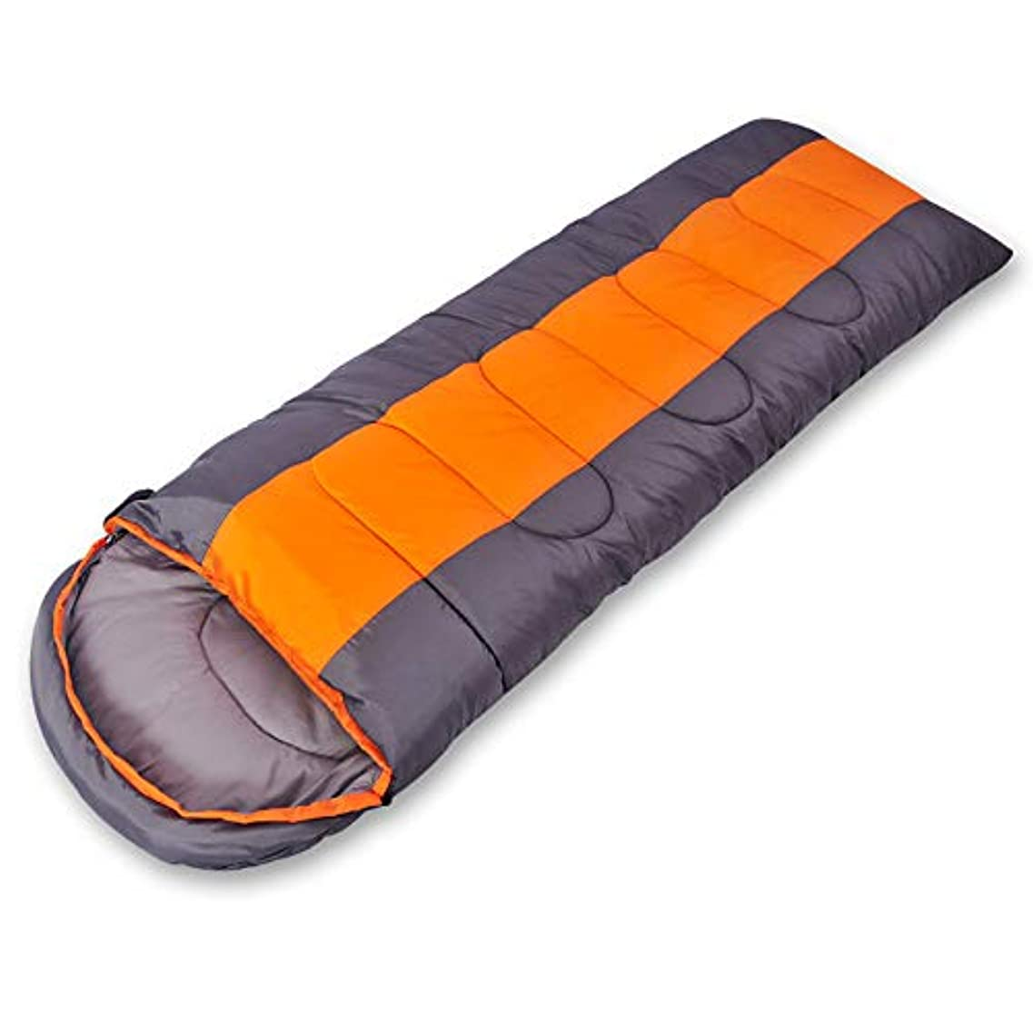 兄贅沢レンダリング大人のアウトドアキャンプランチブレイク寝袋旅行トリップキャンプシングルダブル缶戦い広がる寝袋