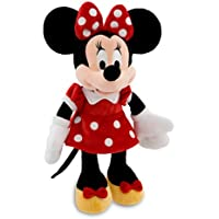 Disney ディズニー Minnie Mouse Plush ミニーマウス ぬいぐるみ レッド 19インチ 48cm 並行輸入品