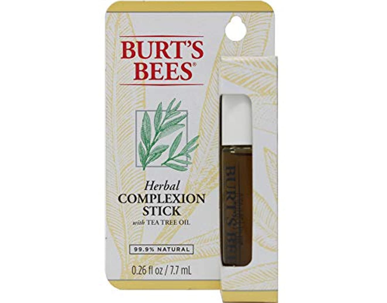 不健康ホームレス技術Burts Bees Herbal Blemish Stick .26 ounce/Burts????????????????.26???