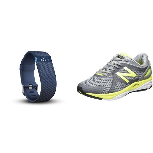 Fitbit ChargeHR Large Blue & [...