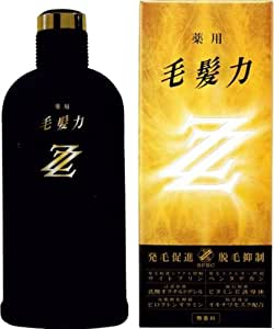 薬用毛髪力ZZ(ダブルジー) 育毛剤 200ml(医薬部外品)
