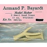 Armand P. Bayardi 1:72 HOスケール 2 スモール デッド ツリー T72/2 + T72/3 ジオラマ #MST/55