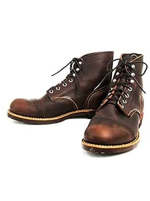 (レッドウィング) RED WING 8111 IRON RANGE BOOTS(アイアンレンジブーツ) Amber Harness Leather (5(23cm))