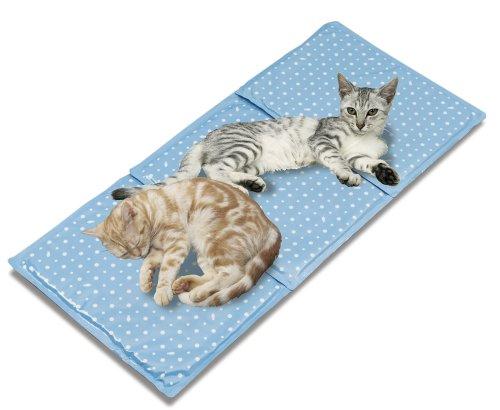 マルカン 多頭飼い猫用アルミ涼感ソフトマット 猫用