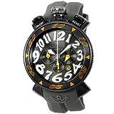 ガガ ミラノ CHRONO 48MM 6054.6-GRY RUBBER [並行輸入品]
