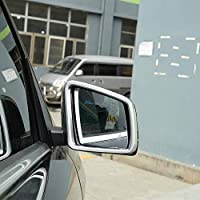 車のABSメッキサイドドアエクステリアミラー装飾フレームに適していますメルセデスベンツ GLE ML GL GLS 2013-2019