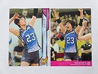 火の鳥NIPPON2018■レギュラーカード■48/野本梨佳 ≪バレーボール女子日本代表オフィシャルトレーディングカード≫
