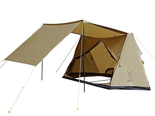 D.O.D(ドッペルギャンガーアウトドア) パップ風テント パップフーテント T2-540-TN