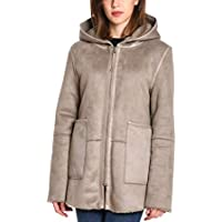 BETTA CORRADI Women's 358007 Beige Polyamide Coat