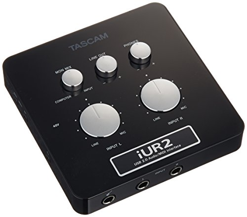 TASCAM オーディオ/MIDIインターフェース iUR2