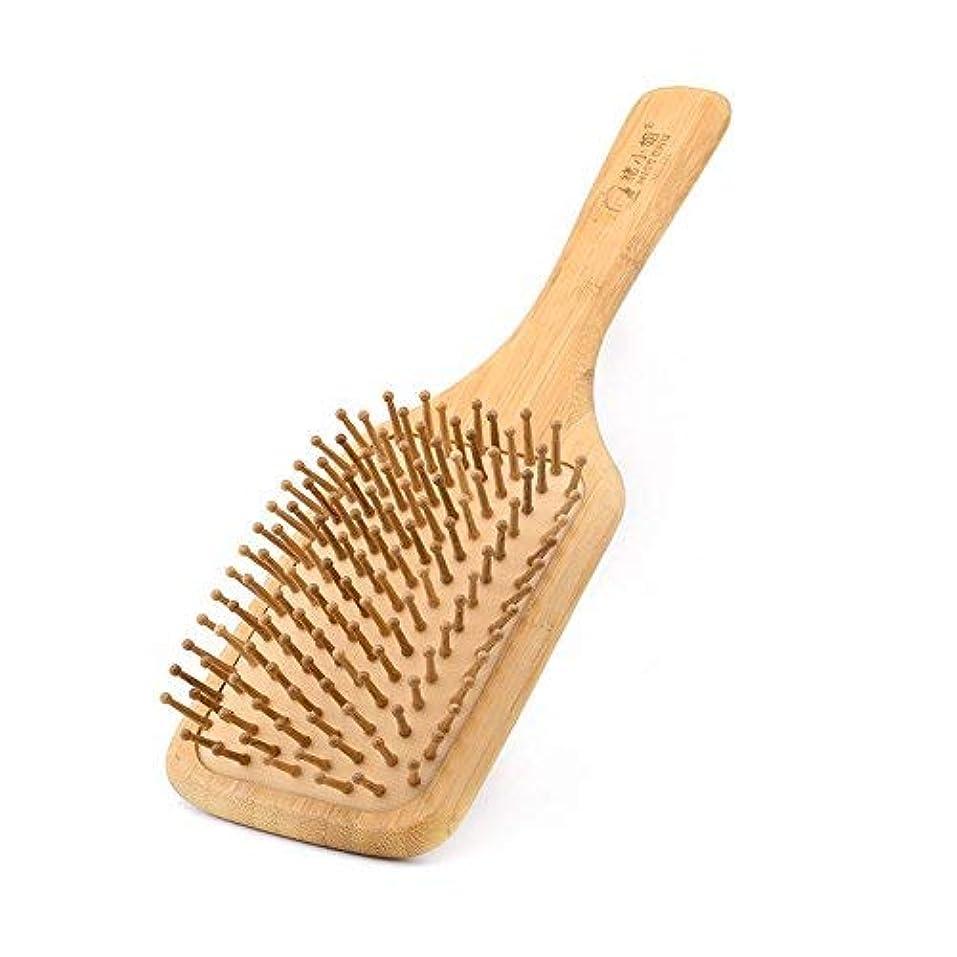 約神話ふつうComb for women Scalp massage Wood Comb Head Hair Comb with air cushion [並行輸入品]