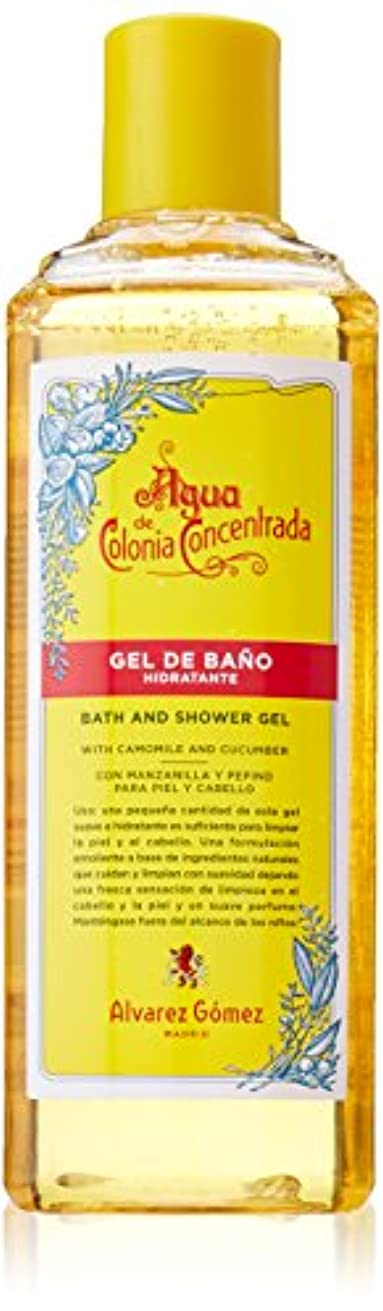 Alvarez Gomez Agua De Colonia Concentrate for Men Bath and Shower Gel, 10.5 Ounce by Alvarez Gomez