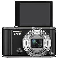 CASIO デジタルカメラ EXILIM EX-ZR3100BK 自分撮りチルト液晶 スマホへ自動送信 ブラック