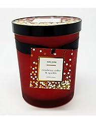 Bloom & Prosper豊かな香りキャンドル – クランベリーCider and Sparkle – 14.535 Oz