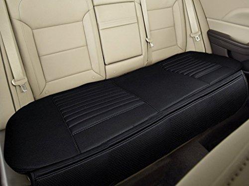Big Ant(ビッグアント)自動車 後部座席シートカバー 通気性 綺麗に保つ 車後部座席クッション防水 シート小物滑り止め防水 後部座席 ペットシートカバー車 ブラック