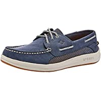 Sperry Gamefish 3-Eye Men's Boat Shoes, Navy,US 8W