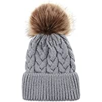 Mother Baby Crochet Hat Parent-Child Hat Family Matching Cap Winter Warmer Knitted Beanie Ski Cap
