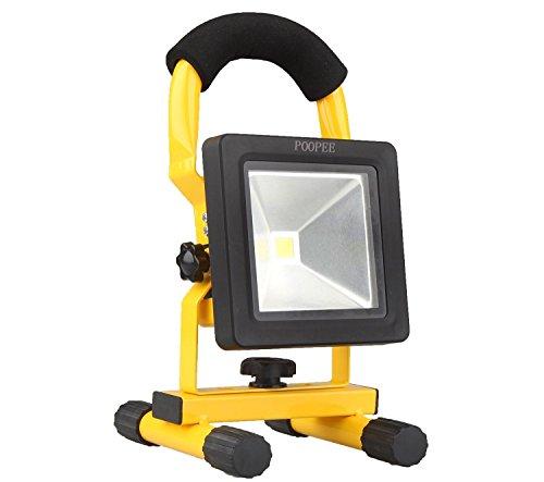 超薄型 10W LED投光器 充電式 バ...