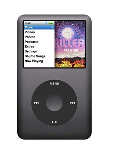 Apple iPod Classic 160 GB 7th Generation Black(現行モデル)MP3ミュージックプレーヤー(160GB 7G、Black)