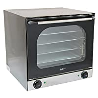 電気対流式オーブン/ツインファンアシスト4トレイアルミニウム/商業ベーキング