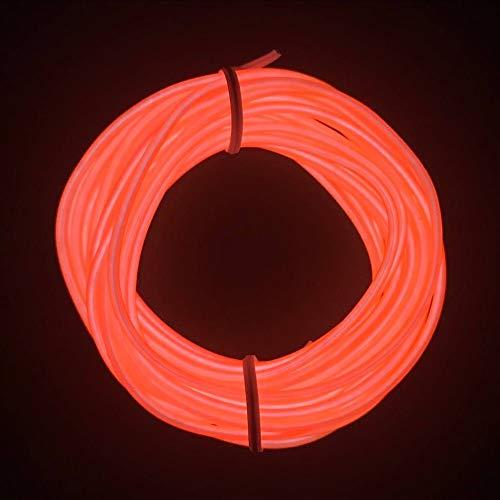 M.best 有機 ELワイヤーネオン 電池式 EL直径2....