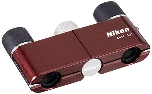 Nikon 双眼鏡 遊 4X10D CF ダハプリズム式 4倍...