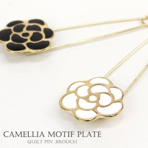 [해외]단순 카멜리아 모티브 퀼트 핀 · 카부토삔 JewelVOX (보석 상자)/Simple Camellia motif Quilt pin · Kabutopin JewelVOX (jewel box)