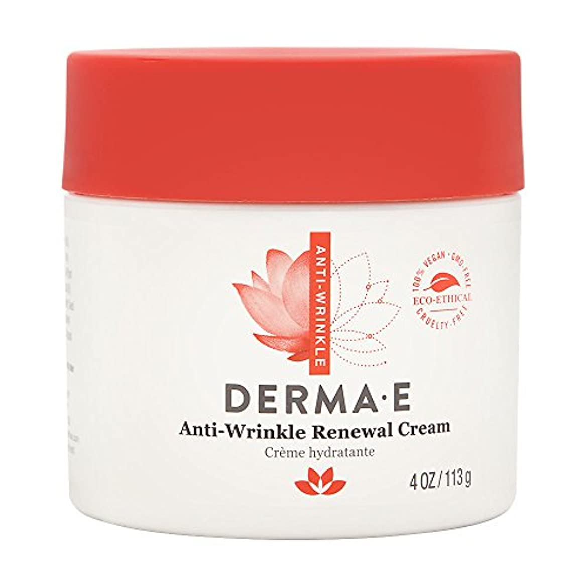 断言するインサートつかいますDerma E, Anti-Wrinkle Vitamin A Retinyl Palmitate Cream, 4 oz (113 g)