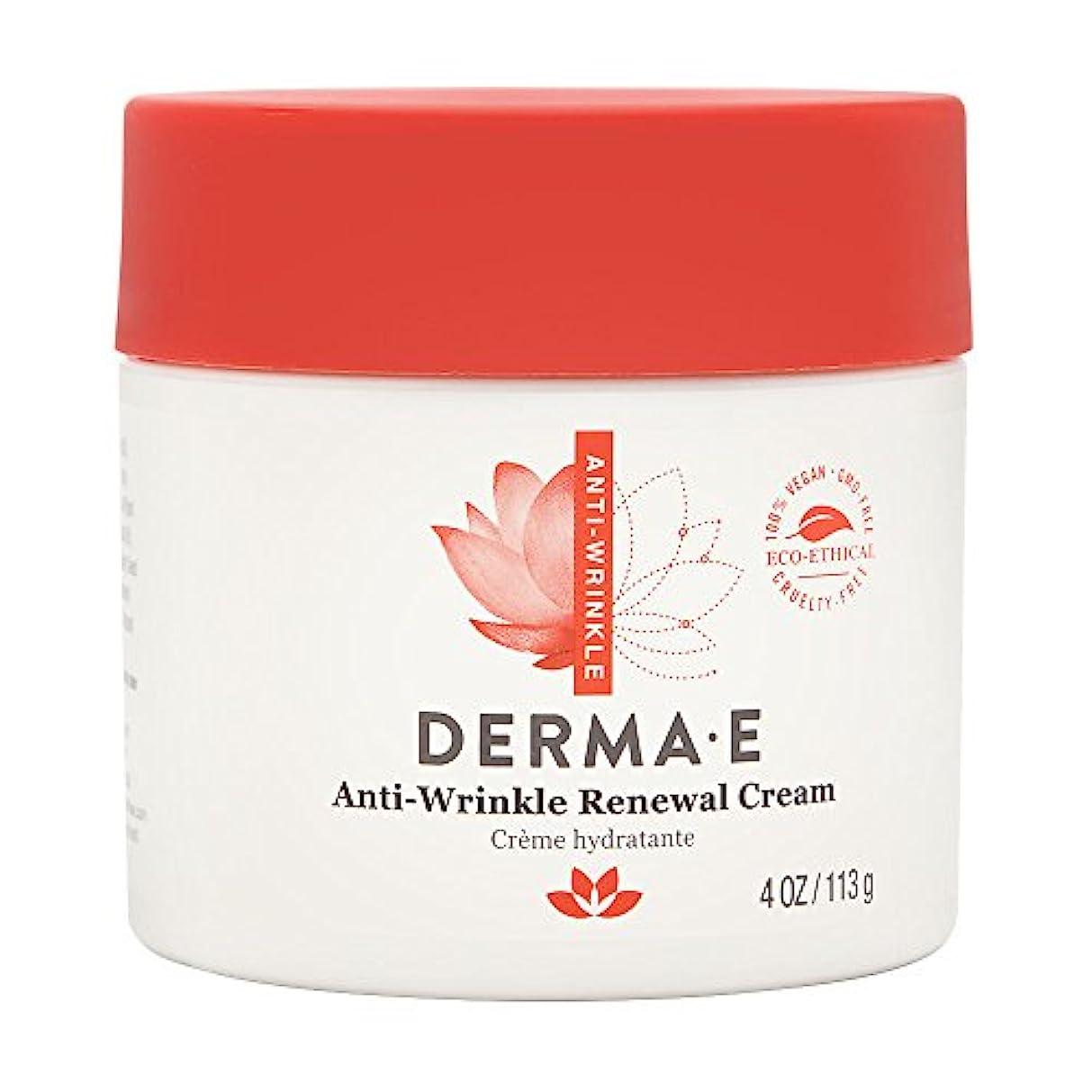フルーツ出費敗北Derma E, Anti-Wrinkle Vitamin A Retinyl Palmitate Cream, 4 oz (113 g)