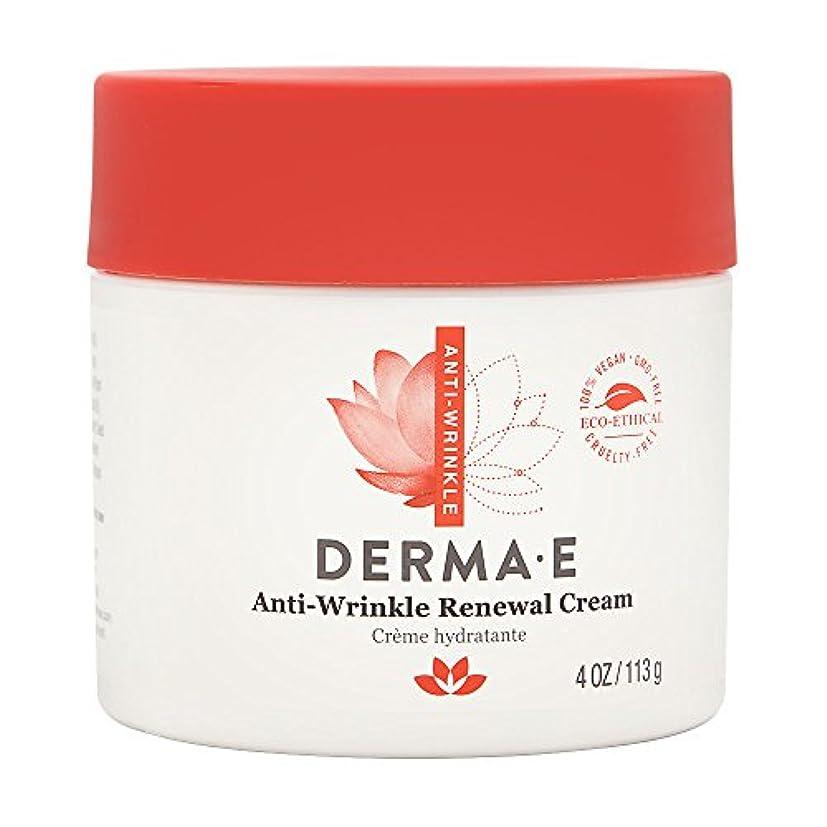 雄弁家蛇行甘やかすDerma E, Anti-Wrinkle Vitamin A Retinyl Palmitate Cream, 4 oz (113 g)