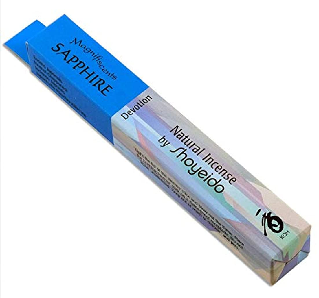 Shoyeido's Sapphire Incense, 30 sticks by SHOYEIDO