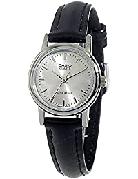 CASIO(カシオ) LTP-1095E-7A/LTP1095E-7A ベーシック アナログ ブラック×シルバー レディースウォッチ 腕時計 [並行輸入品]