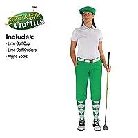 ゴルフKnickersレディースOutfit–Matchingゴルフキャップ–ライム 4