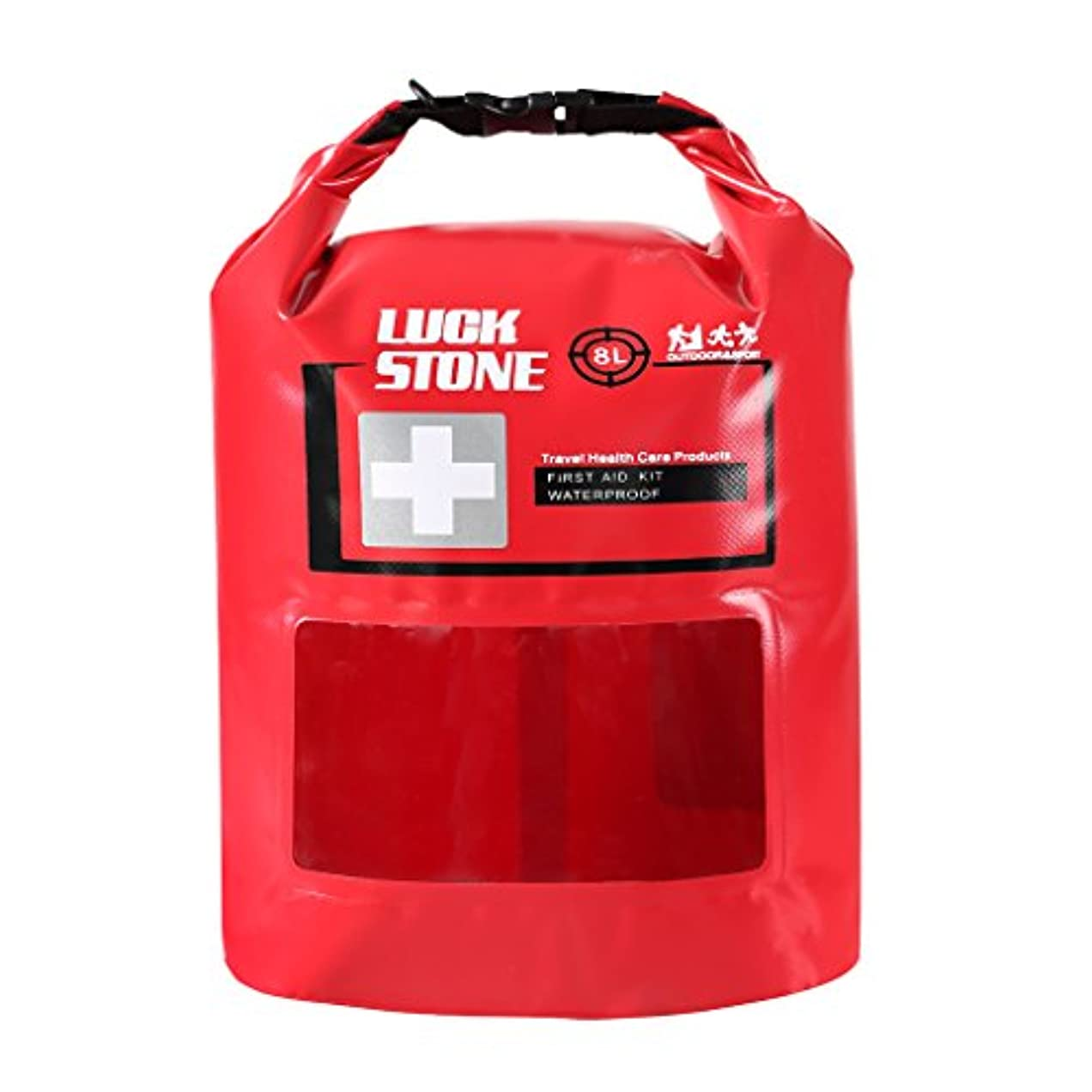システムシンポジウム合理的防水 ファーストエイドキット ドライバッグ ポーチ 緊急 応急処置
