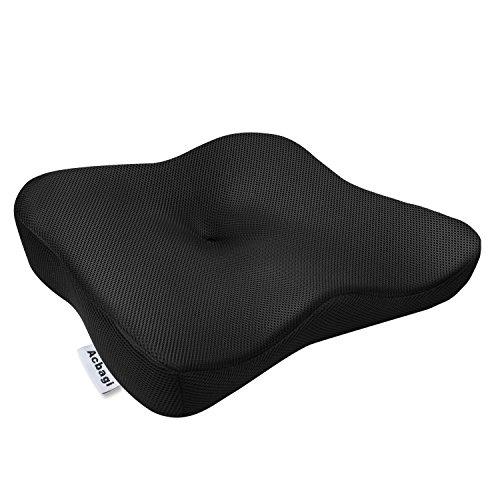 最新型 低反発 クッション ヘルスケア 座布団 腰楽クッション 椅子や車に 運転 クッション 姿勢矯正 腰痛対策 骨盤サポート 猫背 美尻 坐骨神経痛の緩和 健康クッション シートクッション