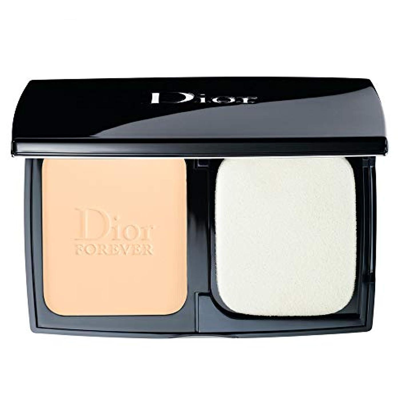 散歩仕事吐くクリスチャンディオール Diorskin Forever Extreme Control Perfect Matte Powder Makeup SPF 20 - # 010 Ivory 9g/0.31oz並行輸入品