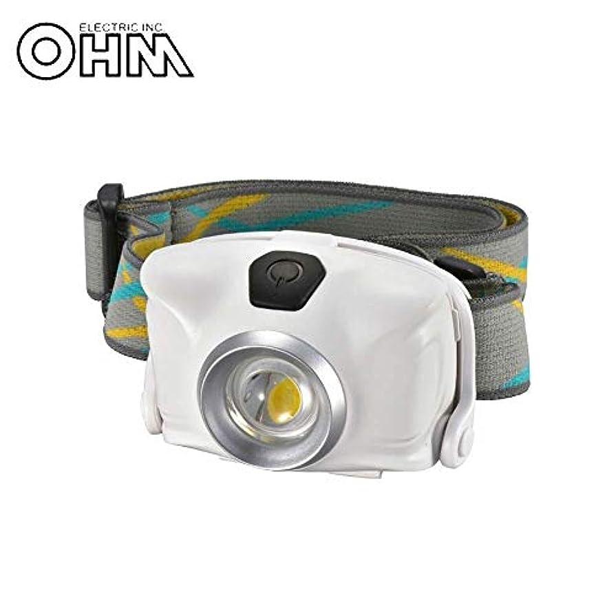 賛美歌素晴らしきクレアOHM LEDヘッドライト ホワイト LC-SYW1-W